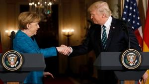 Трамп, Меркель, Путин, США, Россия, Германия, Большая двадцатка, переговоры