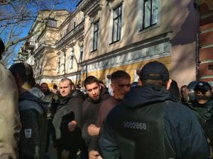 """Одесса, ОПЗЖ, потасовки, полиция, отель """"Бристоль"""", Рабинович, Скорик"""