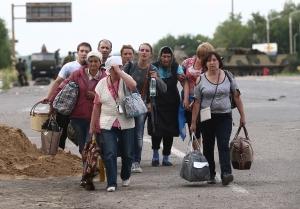 Россия, беженцы, юго-восток, переселенцы, Украина, Донецк, Луганск, ЛНР, ДНР, Донецкая республика, Дробышевский