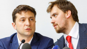 Зеленский, Гончарук, Тигипко, Замена, Премьер.