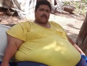 мексика, толстяк, умер