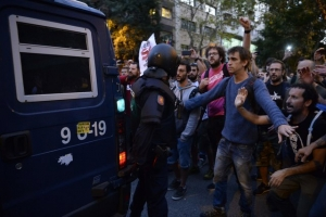 каталония, испания, референдум, митинг, беспорядки, протесты, столкновения, полиция, сепаратисты, барселона