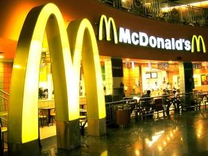 McDonald's, церковь, США, нью-джерси