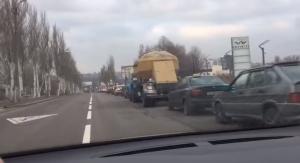 ДНР, бензин, очереди на заправках, общество