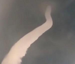 япония, змея, облако, небо, торнадо, кадры