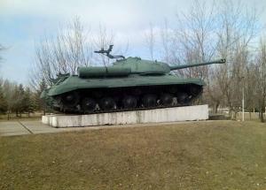 Танк, памятник, АТО, Константиновка, ДНР, Вооруженные силы Украины, Минобороны