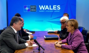 Петр Порошенко, Ангела Меркель, НАТО, Украина, Германия, политика
