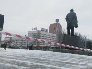 донецк, днр, памятник ленину, взрыв, восток украины, происшествия, общество, диверсия