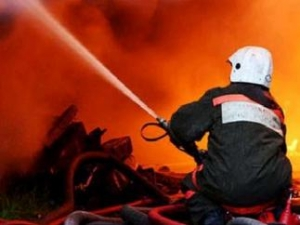 киев, пожар, новости украины, украинские пожарники, происшествие, общество