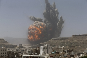 Йемен, война, авиаудар, общество