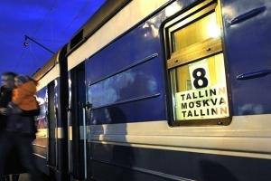 железная дорога, таллин, москва, поезд