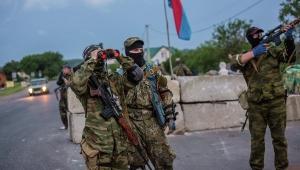 АТО, Ополченцы, украинские военные, Зеленополье, окружение