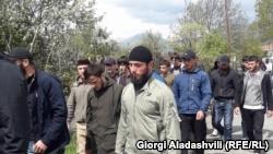 Грузия, Панкисское ущелье, конфликт, чеченцы, Ахмат Кадыров, спецназ