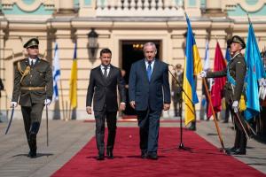 Украина, политика, израиль, зеленский, Нетаньяху, визит, переговоры
