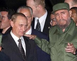 владимир путин, фидель кастро, новости россии, новости мира, политика