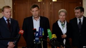 Украина, Россия, война на Донбассе, АТО, трехсторонняя контактная группа