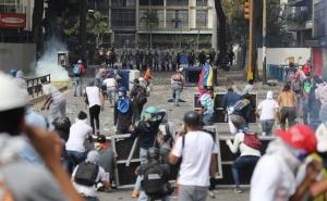 венесуэла, мадуро, революция, кадры, погибшие, пострадавшие, улицы, требование, отставка, силовики, применение силы, в огне, баррикады