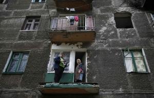 восток украины, дебальцево, горловка, уокер, ООН, эвакуация, гуманитарная помощ