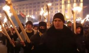 факельный марш, киев, украина, бандера, упа, националисты