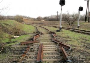 днр, донбасс, железная дорога, происшествия, ато, юго-восток украины, новости украины