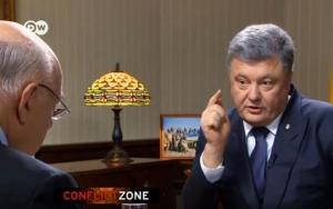 порошенко, Deutsche Welle, интервью, политика, крым, нато