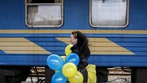 """Крым, поезд, железная дорогая, """"Симферополь-Москва"""", общество, новости Украины, новости России"""