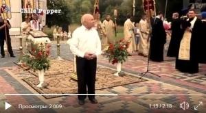 слава украине, видео, шевченко, московский патриархат, религия, владимир-волынский