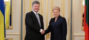Даля Грибаускайте, литва, украина ,евросоюз, петр порошенко, заседание Европейского Совета, политика