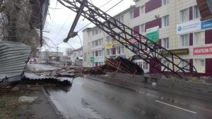 ураган, ветер, разрушения, происшествия, томск, погода, россия