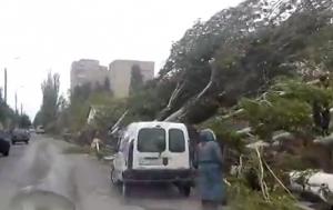 бердянск, ураган, последствия