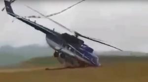 новости, Россия, Эльбрус, испытания, крушение, неудачное приземление, экстренная посадка, вертолет, Ми-171А2, Вертолеты России, крушение, видео, кадры
