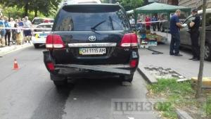Киев, Украина, общество, взрыв, джип, свидетели, преступник, взрывчатка, полиция, фото