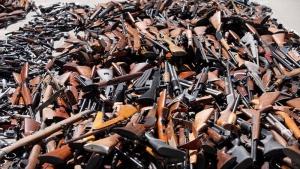 новости украины, нелегальное оружие, оружие из зоны ато, война в донбассе
