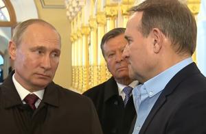 медведчук, путин, сочи, украина, россия, выборы, оппоблок, тымчук
