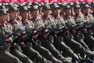 КНДР, Северная Корея, Южная, испытания, учения