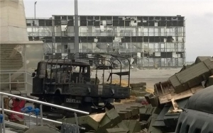 аэропорт Донецка, Донбасс, ДНР, АТО, Нацгвардия, армия Украины, Украина, восток