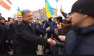 порошенко, украина, видео, киев, томос, объединительный собор, софиевская площадь, церковь, автокефалия