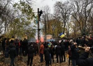 одесса, труханов, городской сад, протест, стройка