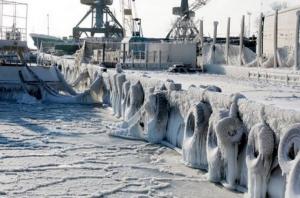 болгария, варна, бургас, черное море, природное явление, море замерзло