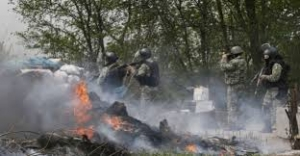 марьинка, бой, террористы, прорыв