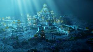 тайна, загадка, Атлантида, остров, мифическое государство, где находится, космос, Луна, кадры, фото