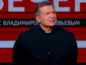 Соловьев, пропагандист, Россия, Путин, Украина, Франция, Макрон