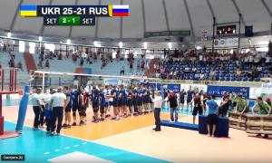 смотреть видео украина россия победа украины волейбол кадры чемпионат европы инваспорт дефлимпийцы киев сегодня