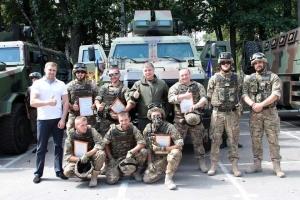 национальная гвардия, бронемашины козак, аваков, мвд