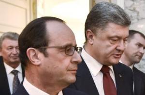 порошенко, донбасс, политика,  общество, олланд, франция