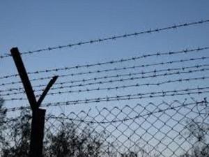 украина, росссия, пограничная стена с росссией,