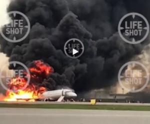шереметьево, самолет, пожар, видео, фото, пострадавшие, россия, москва, Superjet-100
