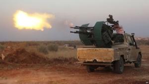 ислам, сирия, война, аэропорт, люди, боевики, террористы