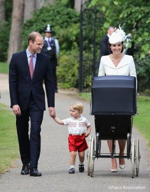 Принц Уильям, Кейт Миддлтон, окрестили дочь, Великобритания