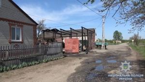 пожар, пожарные, происшествия, новости Украины, полиция, Сумы, село, происшествия